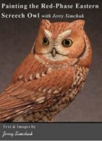 Painting the Red-Phase Eastern Screech Owl