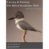 Carving & Painting the Belted Kingfisher