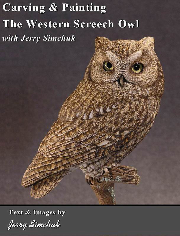 Carving Amp Painting The Western Screech Owl Kv
