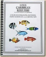 6-pack Caribbean Reef Fish