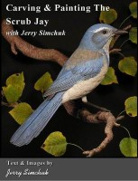 Carving & Painting Scrub Jay