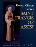 Helen Gibson Carves Saint Francis of Assisi