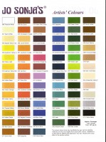 Jo Sonja Color Chart