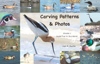 Carving Patterns and Photos by Cam Merkle – Volume 1 Waterfowl and Shorebirds