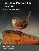 Carving & Painting The House Wren