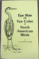 Book Eye Size and Eye Color of North American Birds